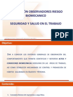 calibración biomecánica