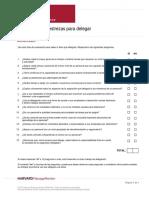 Delegation Skills Assessment