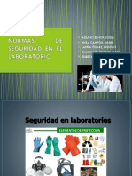 seguridad en laboratorio