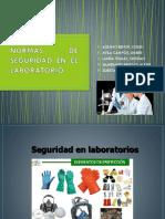 seguridad en laboratorio