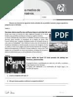 Ficha 9, Función de Los Medios de Comunicación Masivos