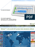 Material Data Standardization Tool MRO SAP Example