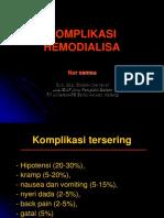 Komplikasi HD Indonesia