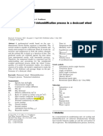 2005_Theoretical Analysis of Dehumidification Process in a Desiccant Wheel
