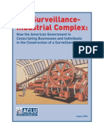 ACLU -- Surveillance Report
