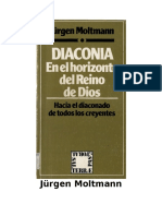 Jc3bcrgen Moltmann Diaconc3ada en El Horizonte Del Reino de Dios