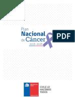 Plan Nacional de Cancer