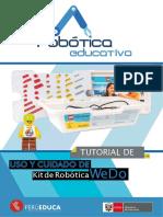 Cuidado y Mantenimiento Del Kit de Robótica A