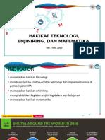 Hakikat Teknologi Enjiniring Dan Matematika