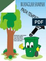 Poster Ajakan Membuang Sampah