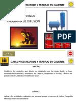 Gases Presurizados - Trabajo en Caliente