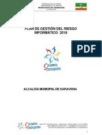 5228 Plan de Gestion de Riesgos Informaticos 2018