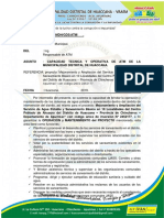 Informe de Capacidad Tecnica Operativa de La Atm