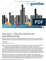 How much …_ The rise of dynamic and personalised pricing _ Money _ The Guardian.pdf