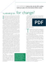 Catalyst for Change? IETA's Kim Carnahan in Carbon Finance Magazine