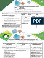 Guia de Actividades y Rúbrica de Evaluación Tarea 4. Realizar Práctica de Laboratorio