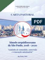 Carta Pastoral - Sinodo