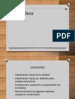 MADERA ESTRUCTURAL CLASIFICACIÓN