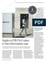 2016 Apple vs FBI - First Salvo in the Information War