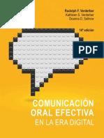 Comunicacion Oral Efectiva en La Era Digital Verderber