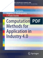(SpringerBriefs in Applied Sciences and Technology) Nikolaos E. Karkalos, Angelos P. Markopoulos, J. Paulo Davim - Computational Methods for Application in Industry 4.0-Springer International Publishi