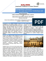 4th International Conference Brochure 2019 IIM-L
