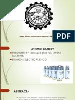 group Atomic battery ppt.pptx