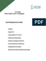 Solidificação de ferros fundidos - Aula 6 - UDESC.pdf