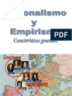 Racionalismo vs Empirismo