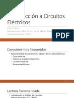 Introducción a circuitos electricos