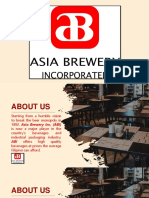 Group 4 Asia Brewery