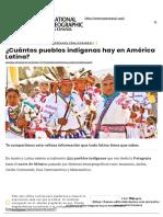 ¿Cuántos Pueblos Indígenas Hay en América Latina_