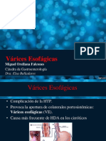 Encefalopatia Hepática, Varices Esofagicas