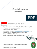ObGy in Indonesia