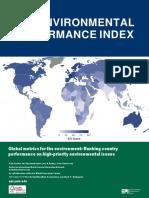 Enviroment Perfromance Index 2018