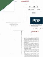 Franz Boas - El Arte Primitivo [FCE 1947]