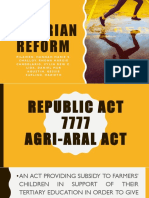 Agrarian Reform Complete