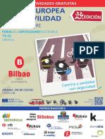 Semana Europea de la Movilidad Sostenible en Bilbao 2019