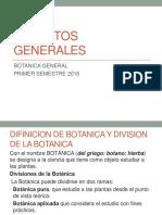 1er Parcial Botanica General