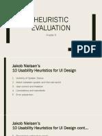 5 - Heuristic Evaluation