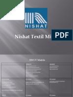 82883739 Nishat SWOT Analysis
