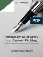 Anudeep Durishetty—Free Chapter GS2