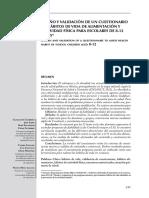 Diseño y Validacion de un cuestionario de habitos de vida de alimentacion y actividad fisica.pdf