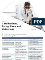 3M Plates Certification, Calidation, Recognition.pdf