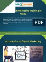 Best Digital Marketing Training in Noida