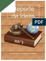Actividad Derecho Reporte de Ideas Fuentes Formales Del Derecho