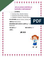 Informe de Matemática