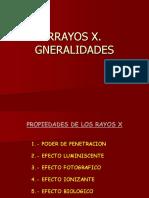 Rayos x Generalidades