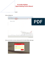 Air Arabia Holidays Manual for Travel Agents