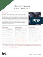 ISOIEC 27001 ISM - Lead Auditor Course - Sales flyer.pdf